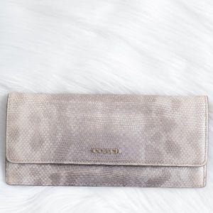 Coach Bags - Coach snakeskin wallet